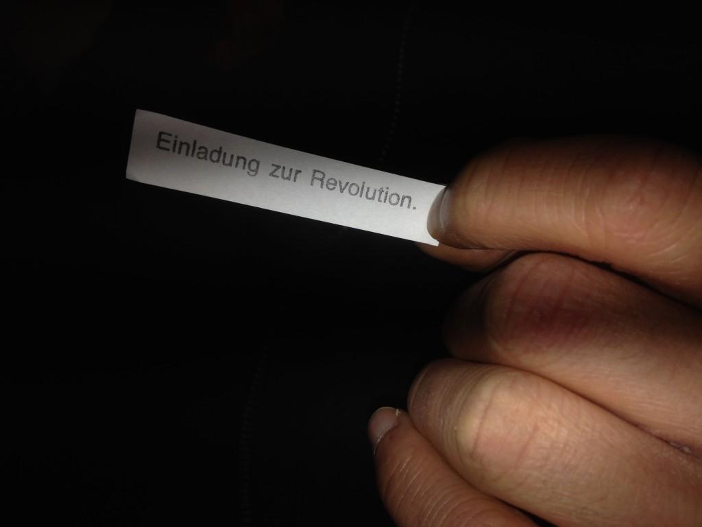 Einladung zur Revolution