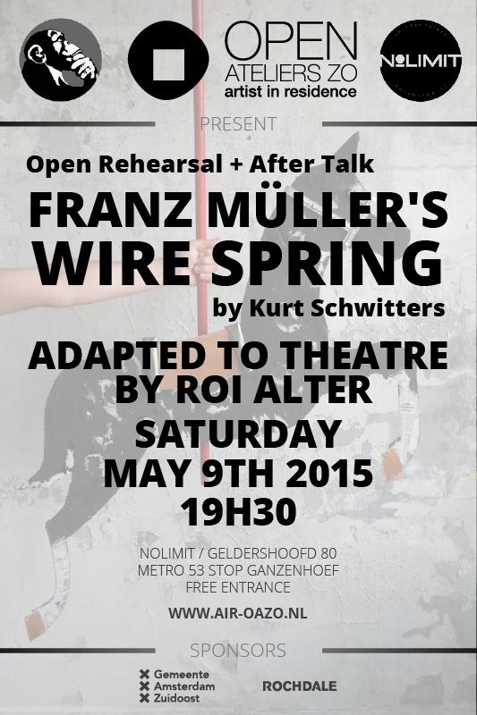 Open Rehearsal Roi Alter